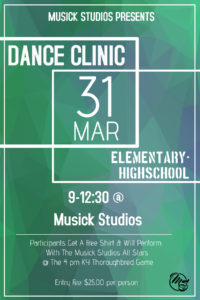 Dance Clinic @ Musick Studios | Owensboro | Kentucky | United States